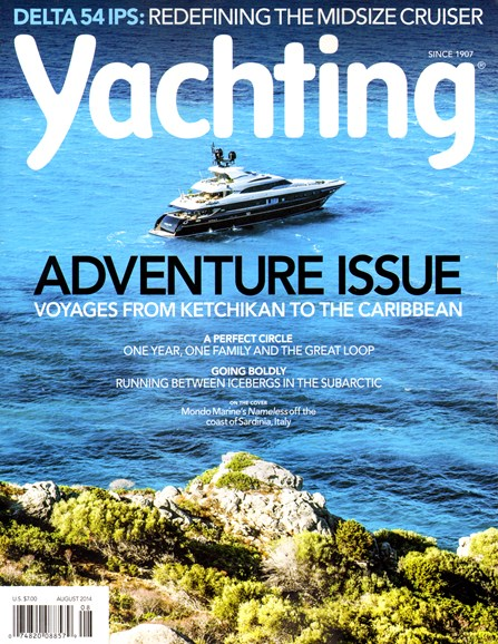 Yachting Cover - 8/1/2014