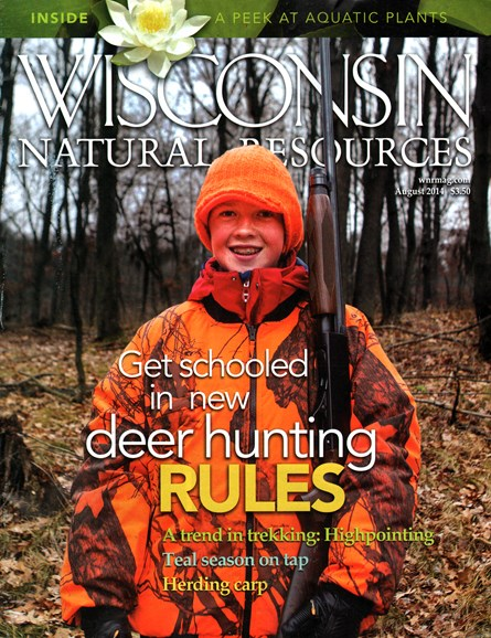 Wisconsin Natural Resources Cover - 8/1/2014