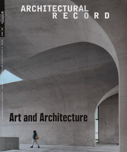 Architectural Record Cover - 8/1/2014