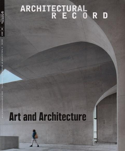 Architectural Record Cover - 8/1/2014
