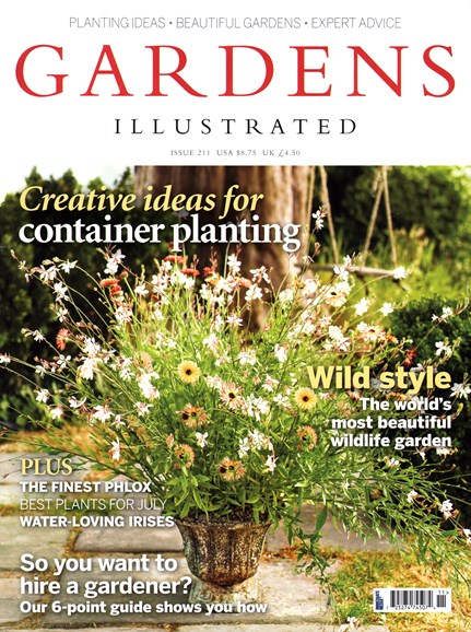Gardens Illustrated Cover - 7/1/2014