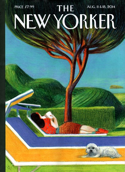 The New Yorker Cover - 8/11/2014