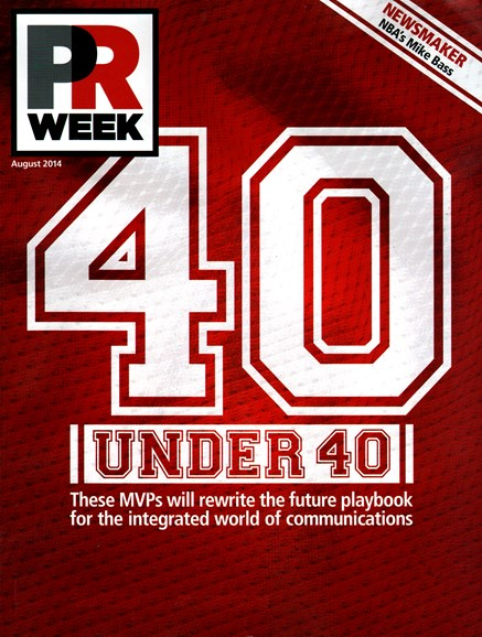 PRWeek Cover - 8/1/2014