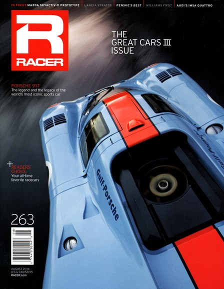 Racer Cover - 8/1/2014