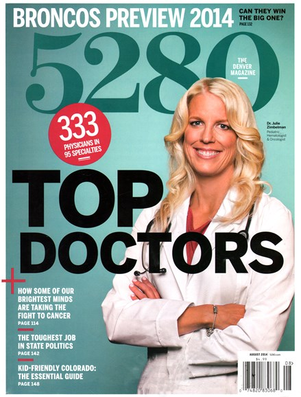 5280 Magazine Cover - 8/1/2014