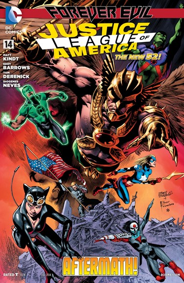 Justice League of America Cover - 7/1/2014