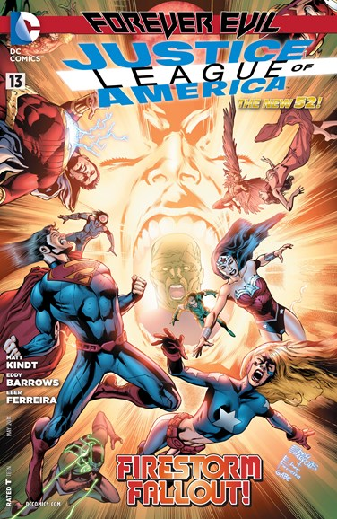 Justice League of America Cover - 5/1/2014
