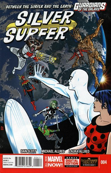 Silver Surfer Cover - 9/1/2014