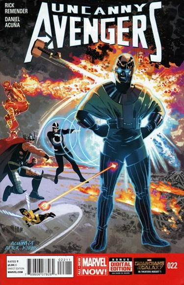 Uncanny Avengers Cover - 9/1/2014