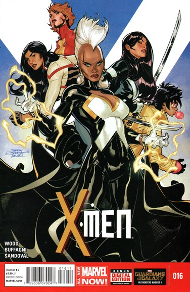 X-Men Gold Cover - 9/1/2014