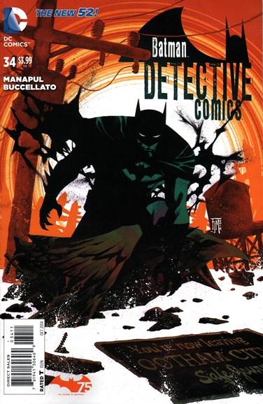 Detective Comics Cover - 10/1/2014