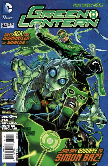 Green Lanterns Cover - 10/1/2014