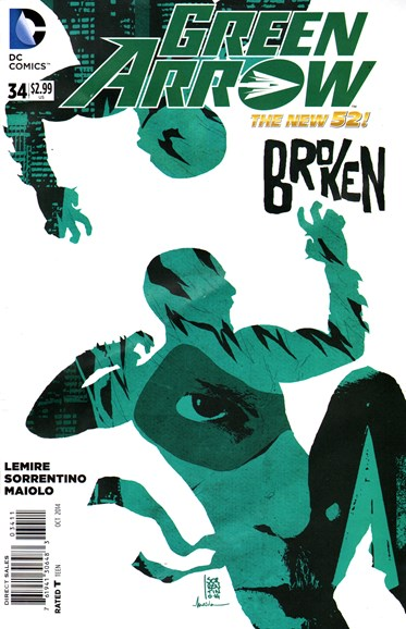 Green Arrow Cover - 10/1/2014
