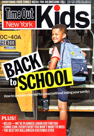 Time Out New York Kids Cover - 8/1/2014