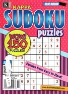 Blue Ribbon Kappa Sudoku Puzzles Magazine 11/1/2014