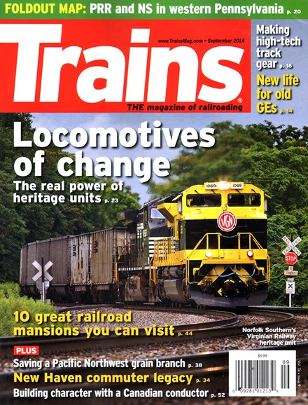 Trains Cover - 9/1/2014