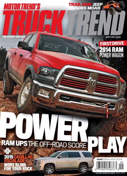 Truck Trend Cover - 9/1/2014