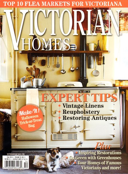 Victorian Homes Cover - 9/1/2014