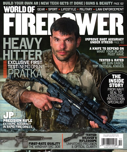 World of Firepower Cover - 9/1/2014