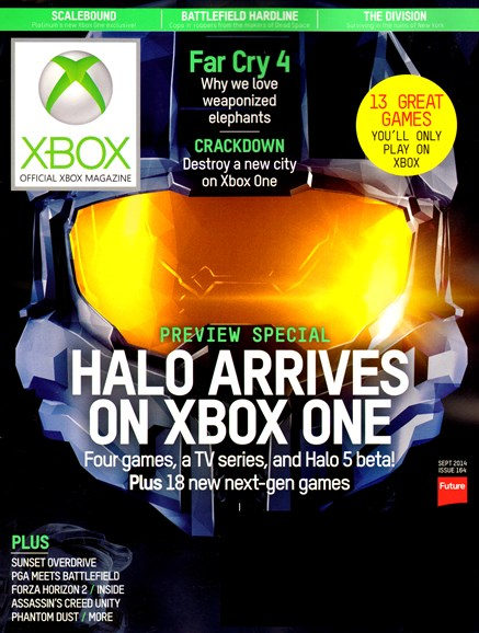 Official Xbox Magazine Cover - 9/1/2014