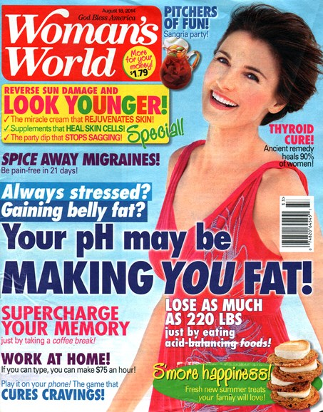 Woman's World Cover - 8/18/2014