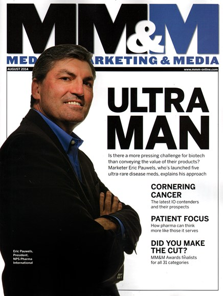 Medical Marketing & Media Cover - 8/1/2014