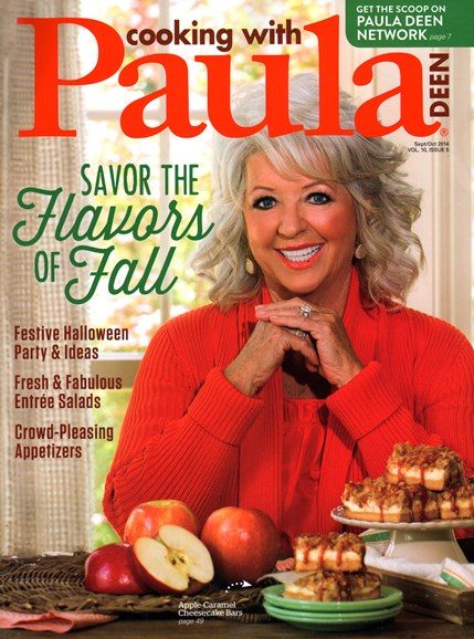 Cooking With Paula Deen Cover - 9/1/2014