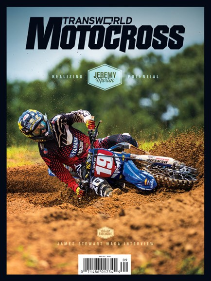 Transworld Motocross Cover - 9/1/2014