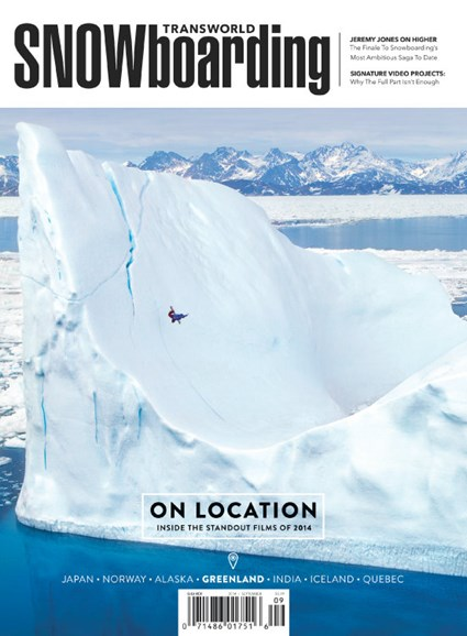 Transworld SNOWboarding Cover - 9/1/2014