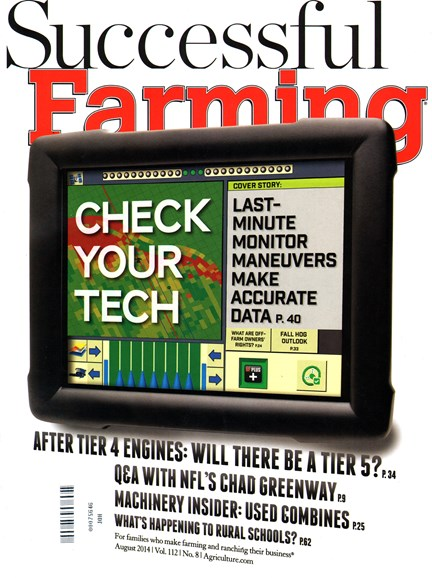 Successful Farming Cover - 8/1/2014