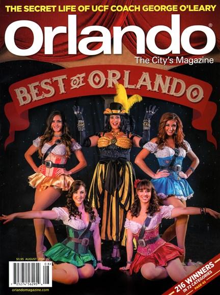 Orlando Magazine Cover - 8/1/2014
