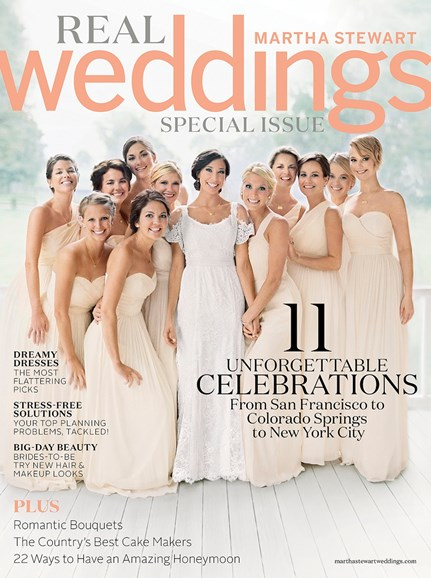 Martha Stewart Weddings Cover - 4/1/2014