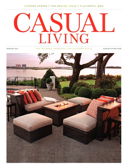 Casual Living Cover - 8/1/2014