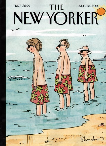 The New Yorker Cover - 8/25/2014