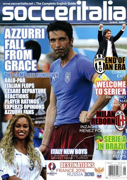 Soccer Italia Cover - 8/1/2014