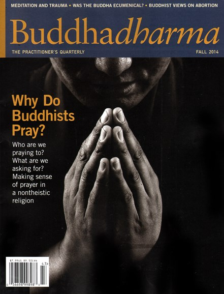 BUDDHADHARMA: THE PRACTIONER'S QUARTERLY Cover - 9/1/2014