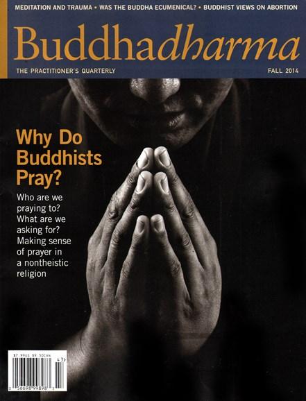 BUDDHADHARMA: THE PRACTIONER'S QUARTERLY Cover - 9/1/2014