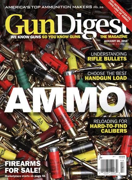 Gun Digest Cover - 8/28/2014