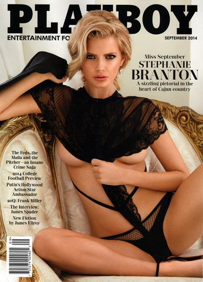 Playboy Cover - 9/1/2014