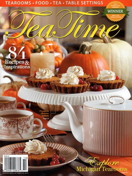 Tea Time Cover - 9/1/2014