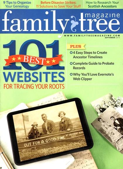 Family Tree Cover - 9/1/2014