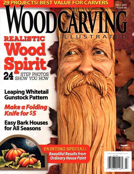 Wood Carving Illustrated Cover - 9/1/2014