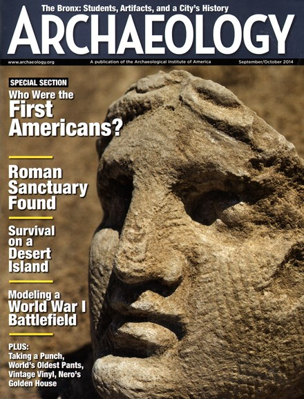 Archaeology Cover - 9/1/2014