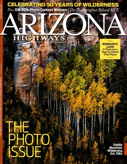 Arizona Highways Cover - 9/1/2014
