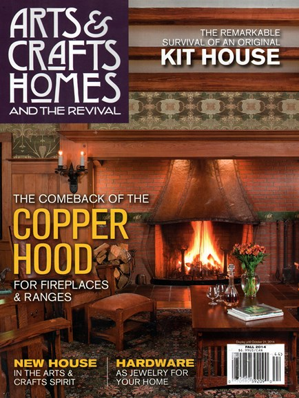 Arts & Crafts Homes Cover - 9/1/2014