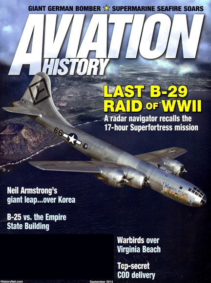 Aviation History Cover - 9/1/2014