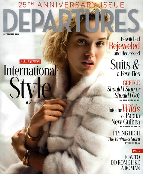 Departures Cover - 9/1/2014