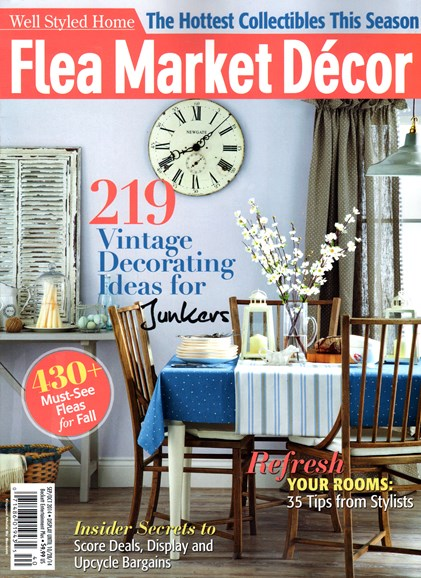 Flea Market Décor Cover - 9/1/2014