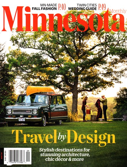 Minnesota Monthly Cover - 9/1/2014