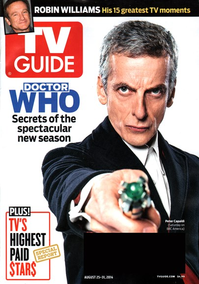 TV Guide Cover - 8/21/2014